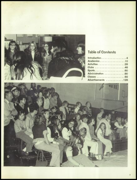 1974 North Central High School Yearbook Page 7