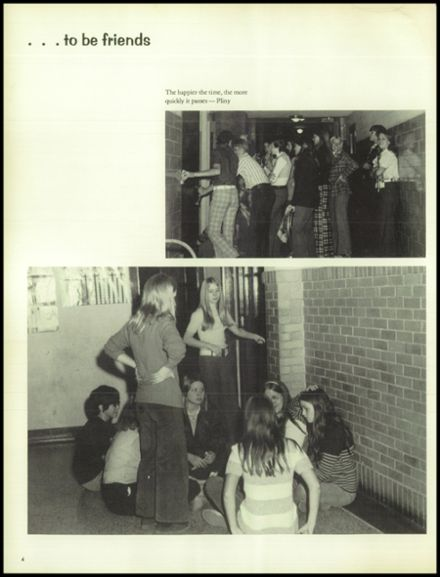 1974 North Central High School Yearbook Page 8