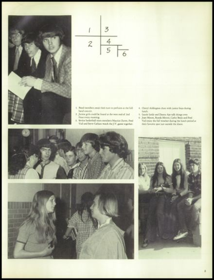 1974 North Central High School Yearbook Page 9
