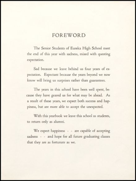 1967 Eureka High School Yearbook Page 7