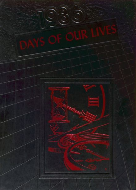 1986 Lewis High School Yearbook Cover
