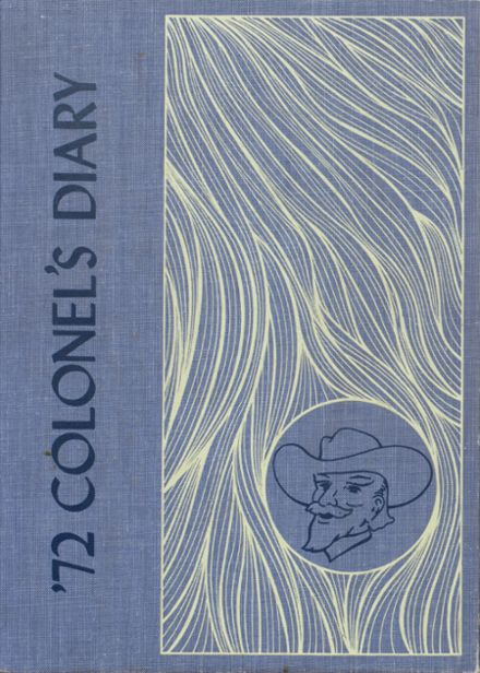 1972 Indianola Academy Yearbook Cover