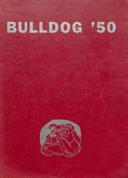 1950 Hi Plains High School Yearbook Cover