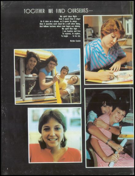 1984 Kishacoquillas High School Yearbook Page 6