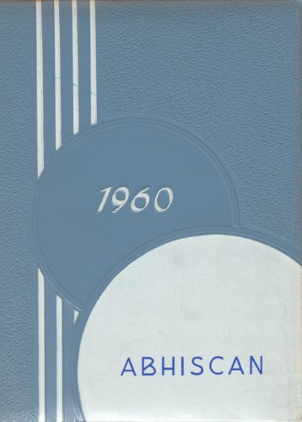 1960 Abbotsford High School Yearbook Cover