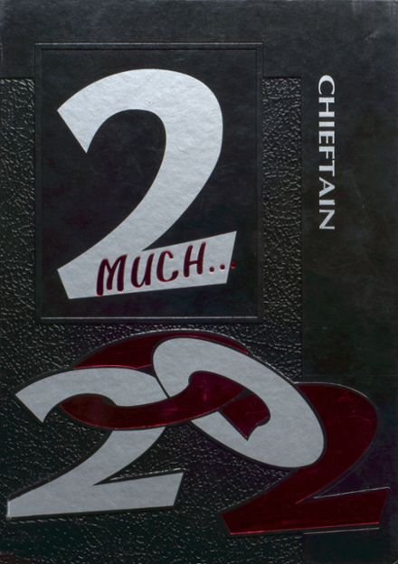 2002 White Cloud High School Yearbook Cover