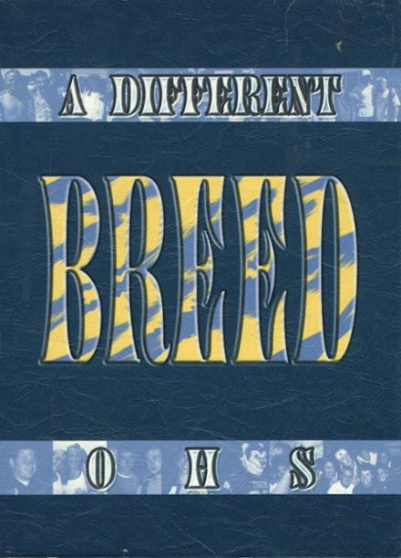 2002 Orem High School Yearbook Cover