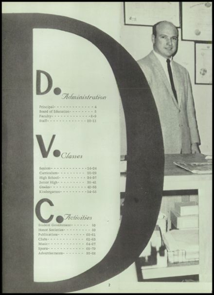 1964 Delaware Valley High School Yearbook Page 6