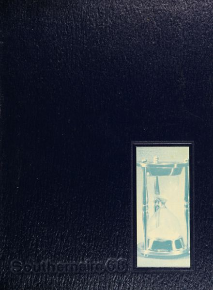 1968 South Dade High School Yearbook Cover