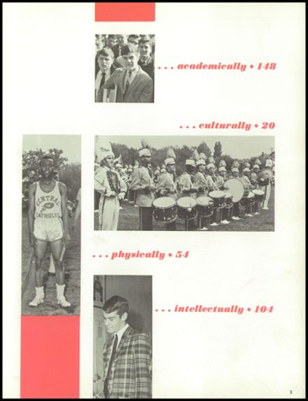 1966 Central Catholic High School Yearbook Page 7