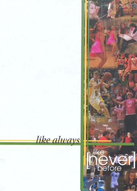 2008 Shawnee Mission South High School Yearbook Cover