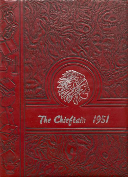 1951 Bardwell High School Yearbook Cover