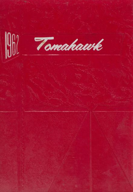 1962 Groveton High School Yearbook Cover