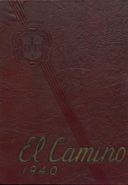 1940 Loyola High School Yearbook Cover