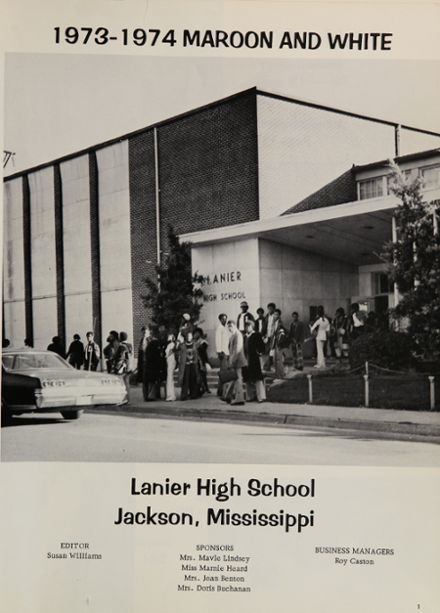 1974 Lanier High School Yearbook Page 5