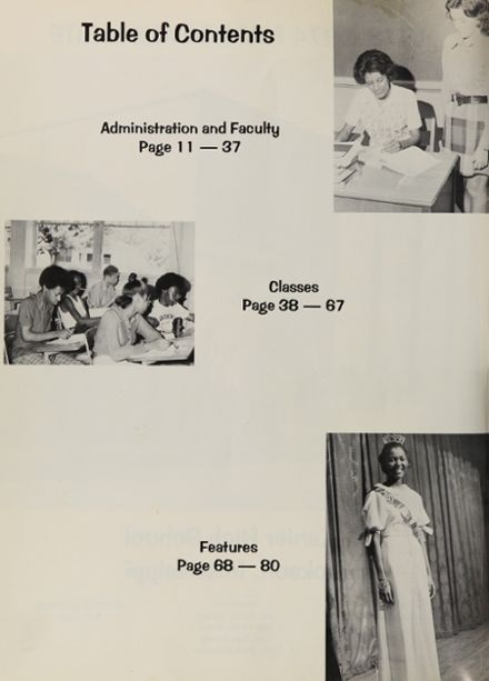 1974 Lanier High School Yearbook Page 6