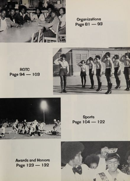 1974 Lanier High School Yearbook Page 7