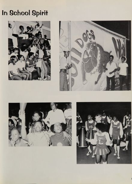 1974 Lanier High School Yearbook Page 9