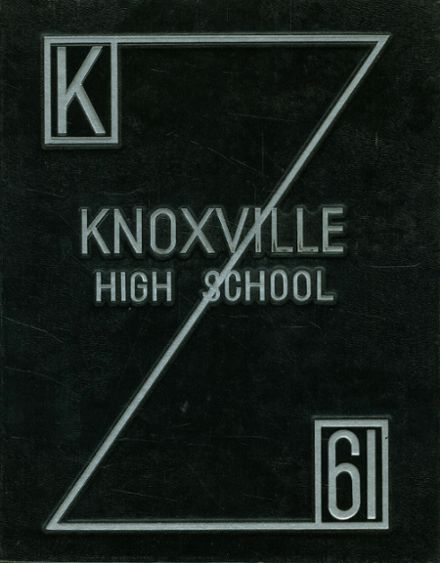 1961 Knoxville High School Yearbook Cover