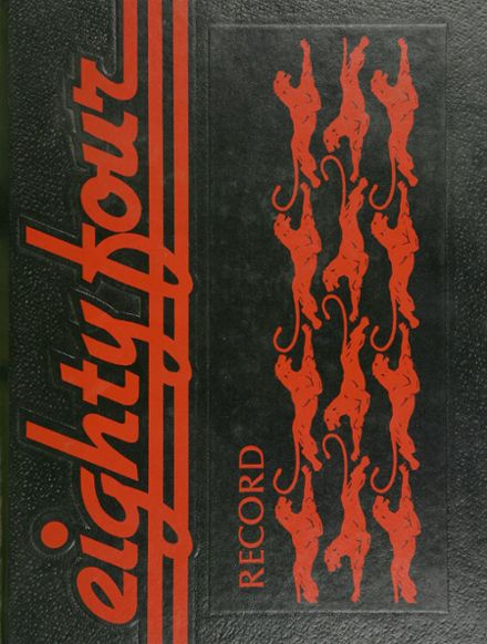 1984 Overbrook High School Yearbook Cover