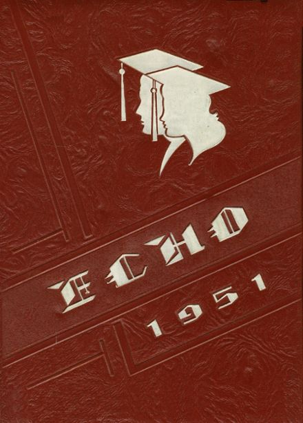 1951 Uhrichsville High School Yearbook Cover