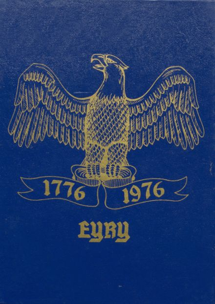1976 High Point High School Yearbook Cover