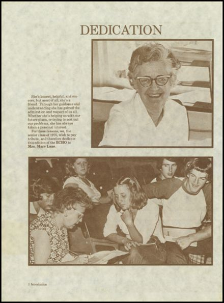 1976 Ragsdale High School Yearbook Page 6