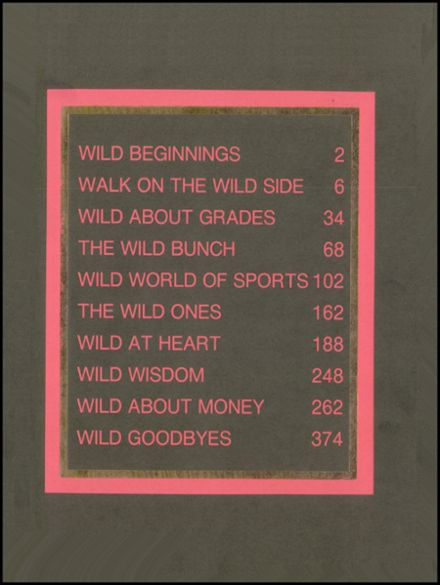 1991 Skyline High School Yearbook Page 3