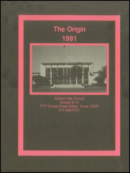 1991 Skyline High School Yearbook Page 4