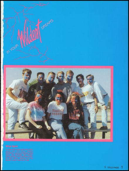 1991 Skyline High School Yearbook Page 5