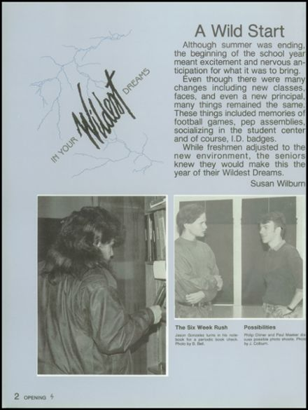 1991 Skyline High School Yearbook Page 6