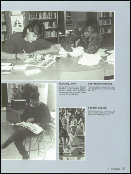 1991 Skyline High School Yearbook Page 7