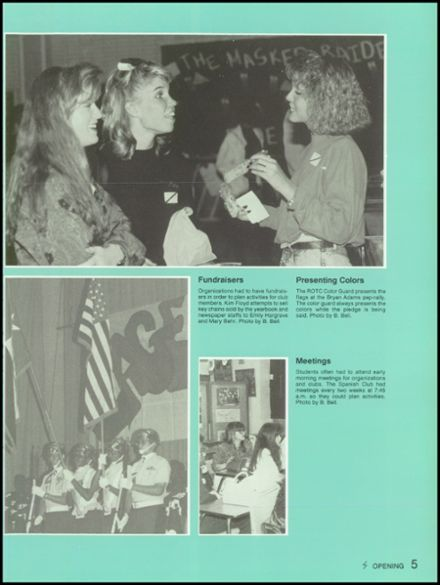 1991 Skyline High School Yearbook Page 9