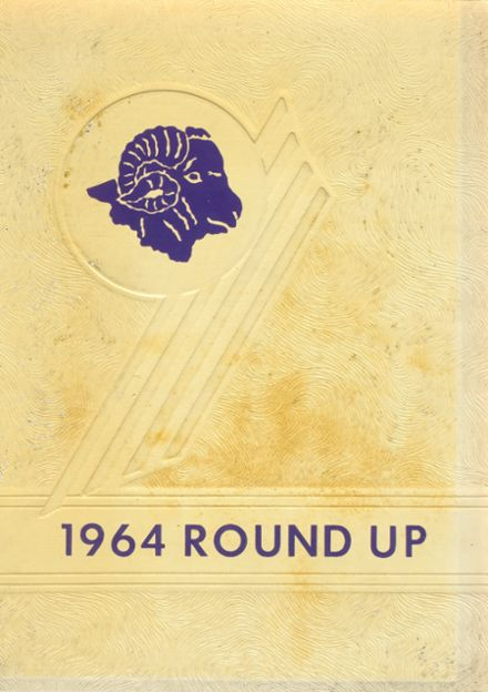 1964 Altoona High School Yearbook Cover