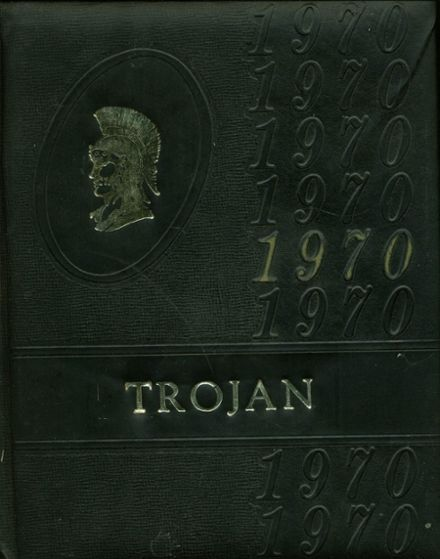 1970 Divide High School Yearbook Cover