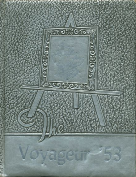 1953 Central Valley High School Yearbook Cover