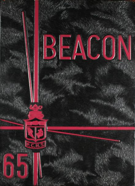 1965 Phoenix Christian High School Yearbook Cover