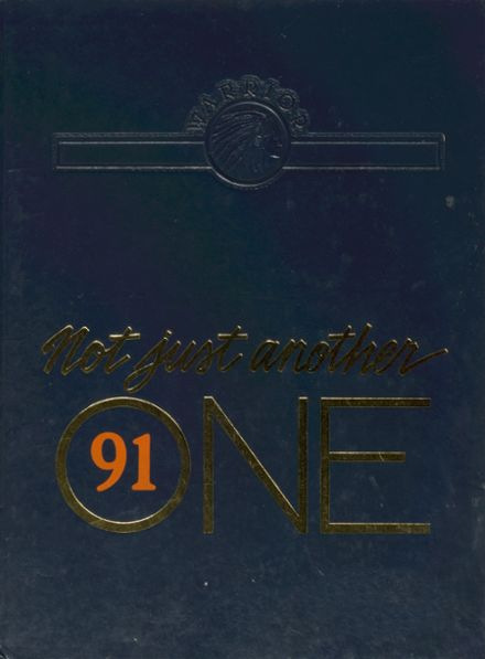 1991 Hall High School Yearbook Cover