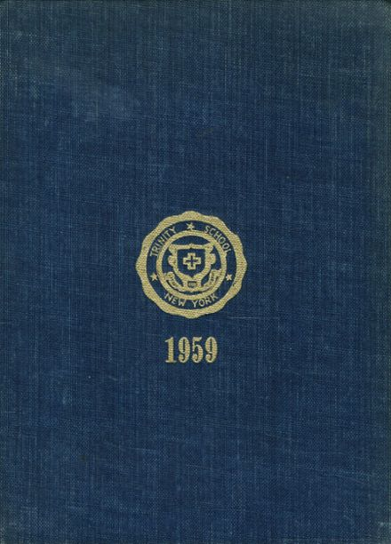 1959 Trinity School Yearbook Cover