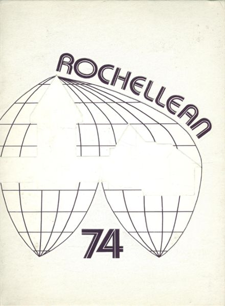 1974 New Rochelle High School Yearbook Cover