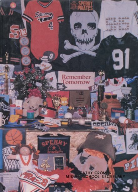 1991 Sperry High School Yearbook Cover