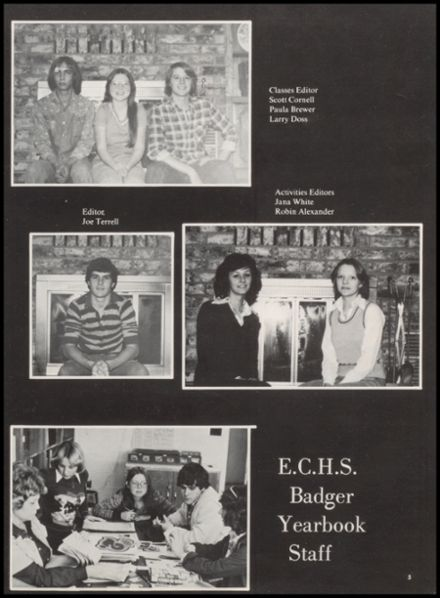 1978 Elmore City High School Yearbook Page 9
