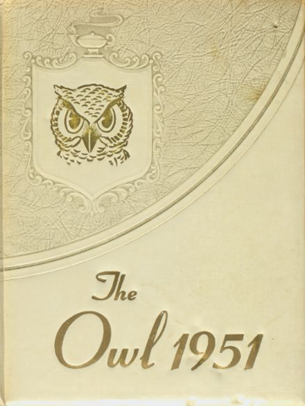 1951 Hale Center High School Yearbook Cover
