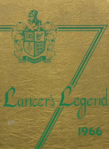 1966 Reynolds High School Yearbook Cover