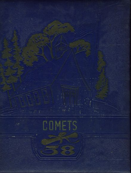 1958 Hopedale High School Yearbook Cover