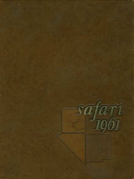 1961 North Allegheny Intermediate High School Yearbook Cover
