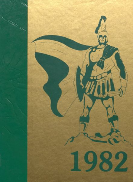1982 Alleghany High School Yearbook Cover