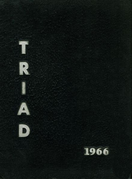 1966 Southwestern High School Yearbook Cover