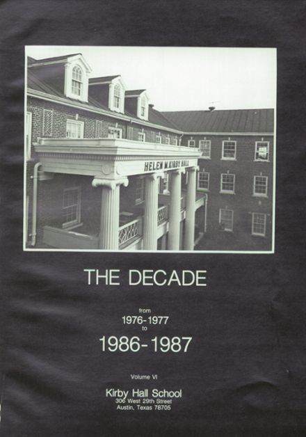 1987 Kirby Hall High School Yearbook Page 5
