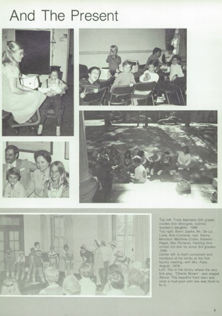 1987 Kirby Hall High School Yearbook Page 9
